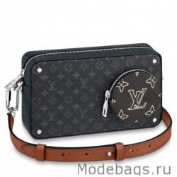 Volga On Strap Monogram Eclipse M69688